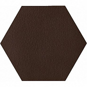 PARADYZ KLINKIER NATURAL BROWN DURO HEKSAGON 26x26