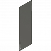 EQUIPE CHEVRON WALL DARK GREY RIGHT 23359 5.2x18.6