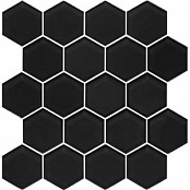 PARADYZ HEXAGON NERO МОЗАИКА 25.8x28