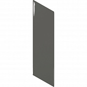 EQUIPE CHEVRON WALL DARK GREY LEFT 23349 5.2x18.6