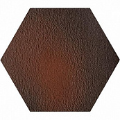 PARADYZ KLINKIER CLOUD BROWN DURO HEKSAGON 26x26