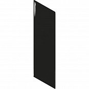 EQUIPE CHEVRON WALL BLACK LEFT 23356 5.2x18.6