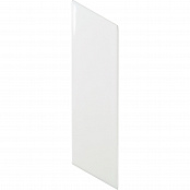 EQUIPE CHEVRON WALL WHITE MATT LEFT 23351 5.2x18.6